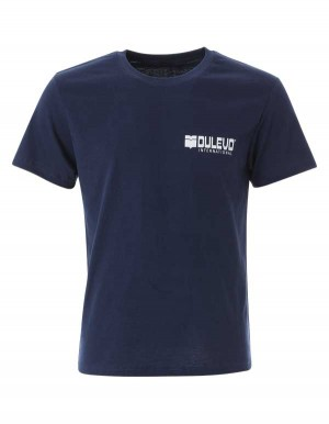 T-shirt manica corta, 100% cotone. Logo Dulevo