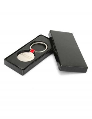 Portachiavi in metallo con logo Dulevo inciso a laser